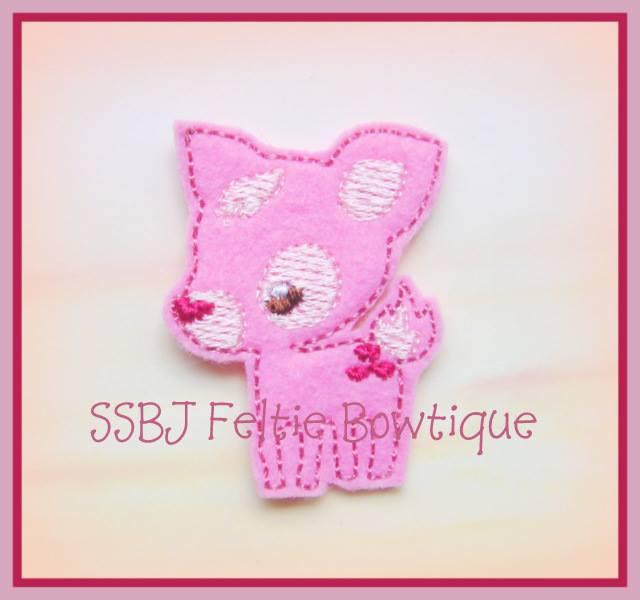 Deer Embroidery File