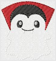 SSBJ Drac Ghost Embroidery File