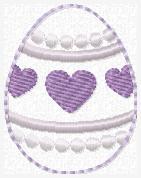 SSBJ Easter Egg Embroidery File