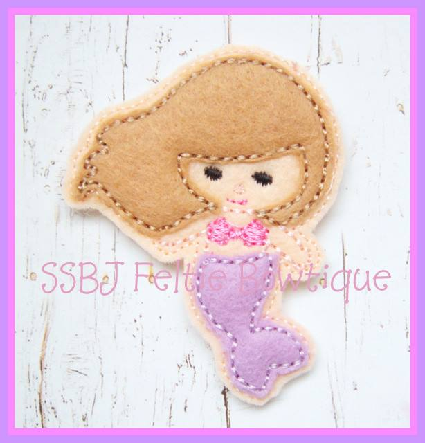 SSBJ Mermaid Embroidery File