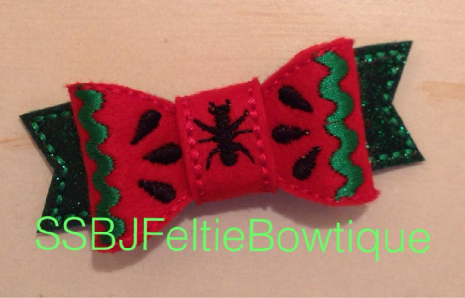 SSBJ Watermelon Bow