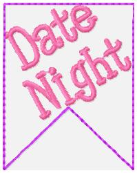 SSBJ Banner Planner Embroidery File-Date Night
