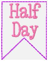 SSBJ Banner Planner Embroidery File-Half Day