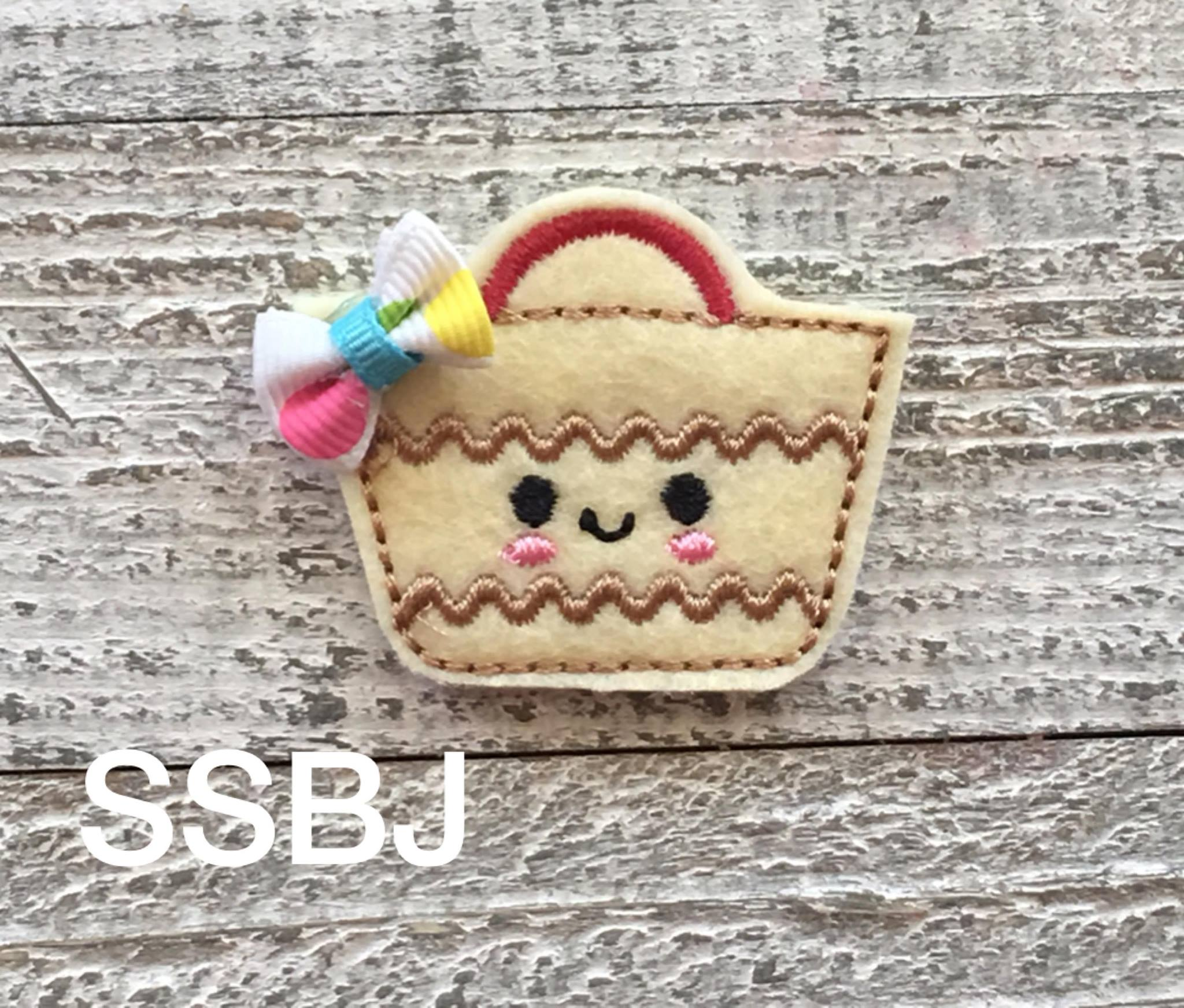 SSBJ Beach Bag Embroidery File