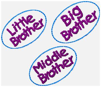 SSBJ Brothers Embroidery File