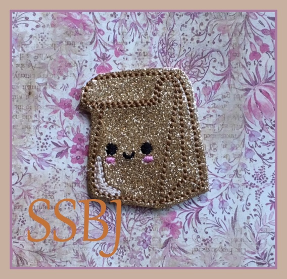 SSBJ Brown Paper Bag Embroidery File