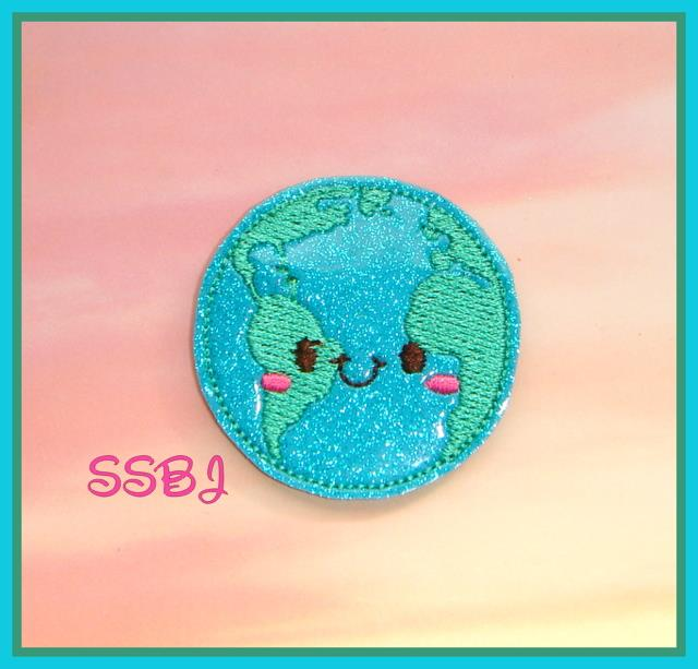 SSBJ Earth Embroidery File
