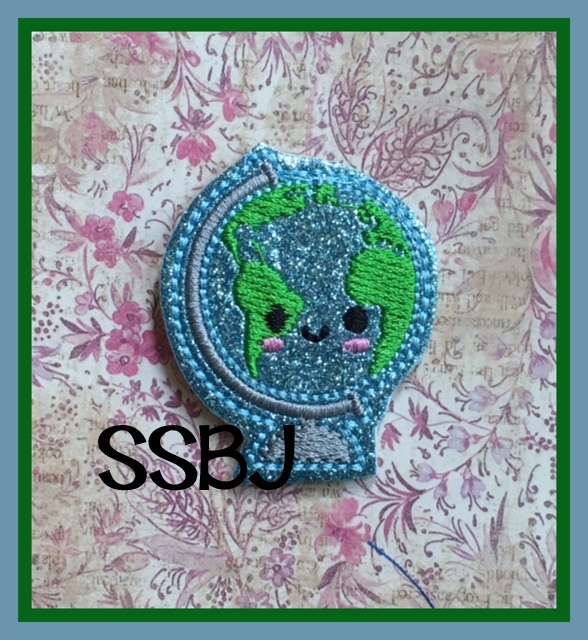SSBJ Globe Embroidery File