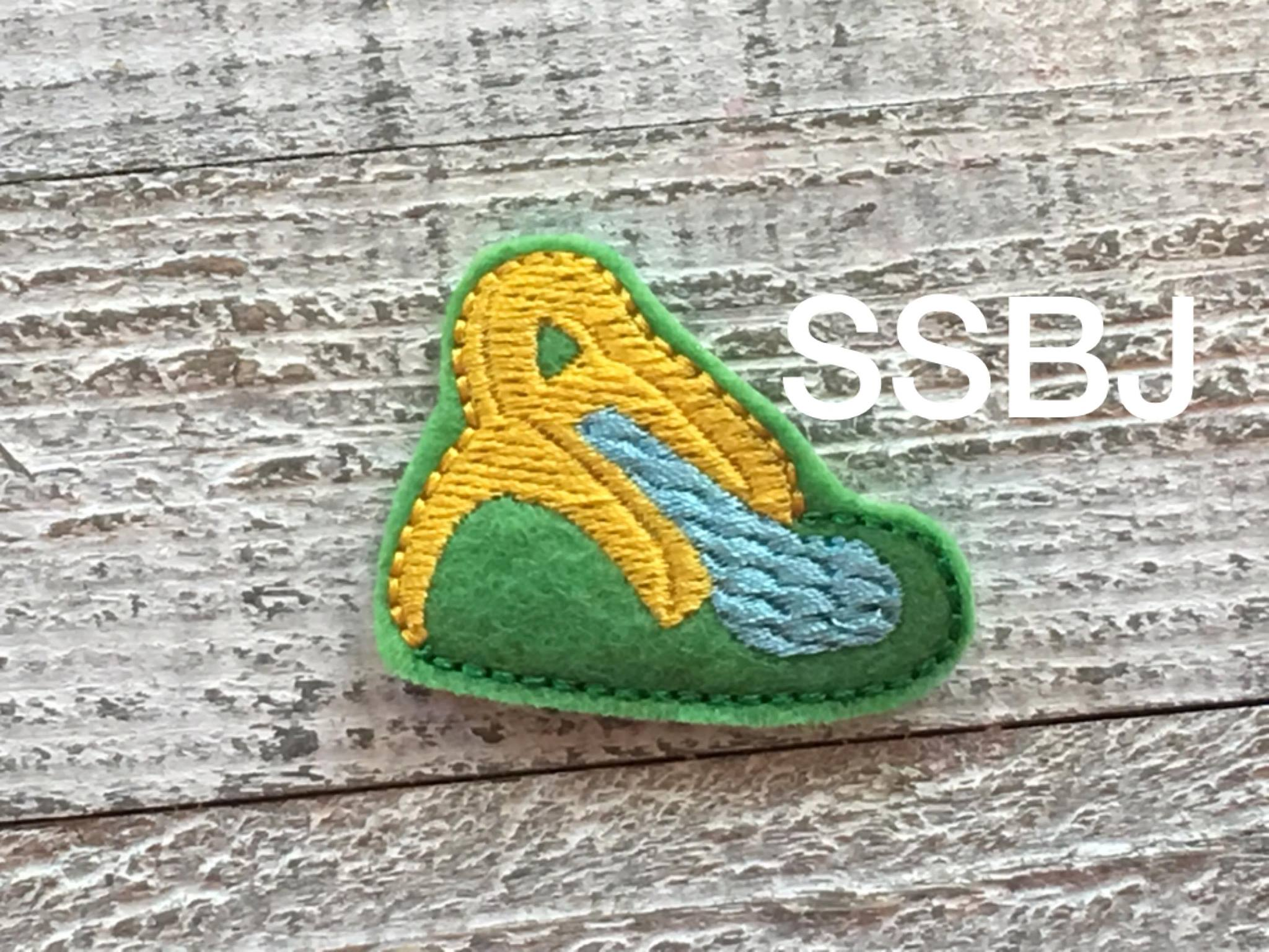 SSBJ Jumpy Slide Embroidery File