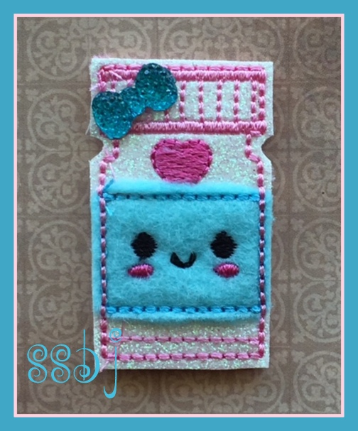 SSBJ Kutie Bottle Embroidery File
