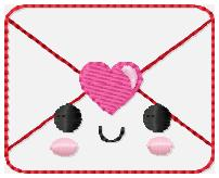 SSBJ Kutie Envelope 2 Embroidery File