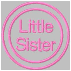 SSBJ Little Sister 2 Embroidery File