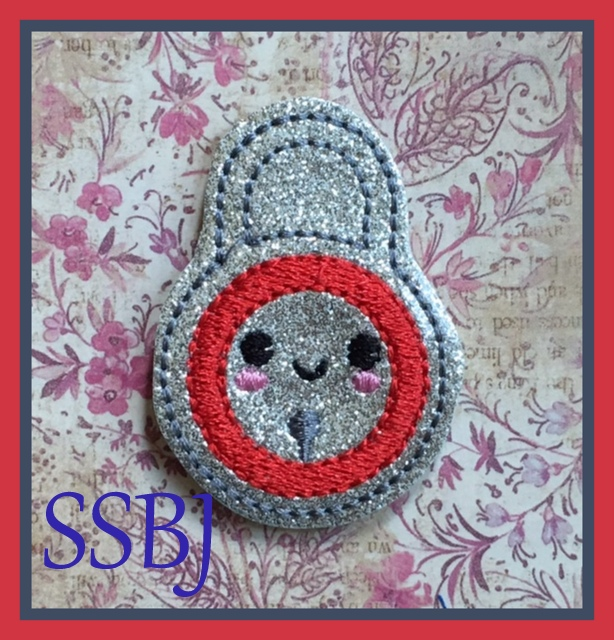 SSBJ Lock Embroidery File