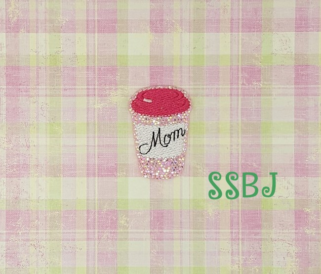 SSBJ Mom's Spiced Latte Embroidery File