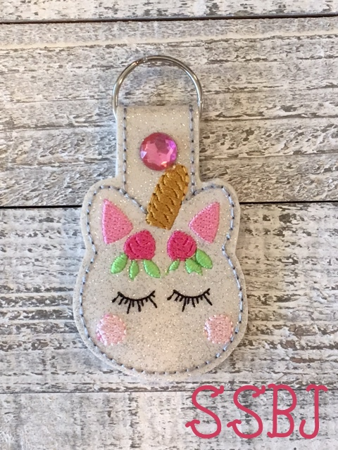 SSBJ Macron Key Chain Embroidery File