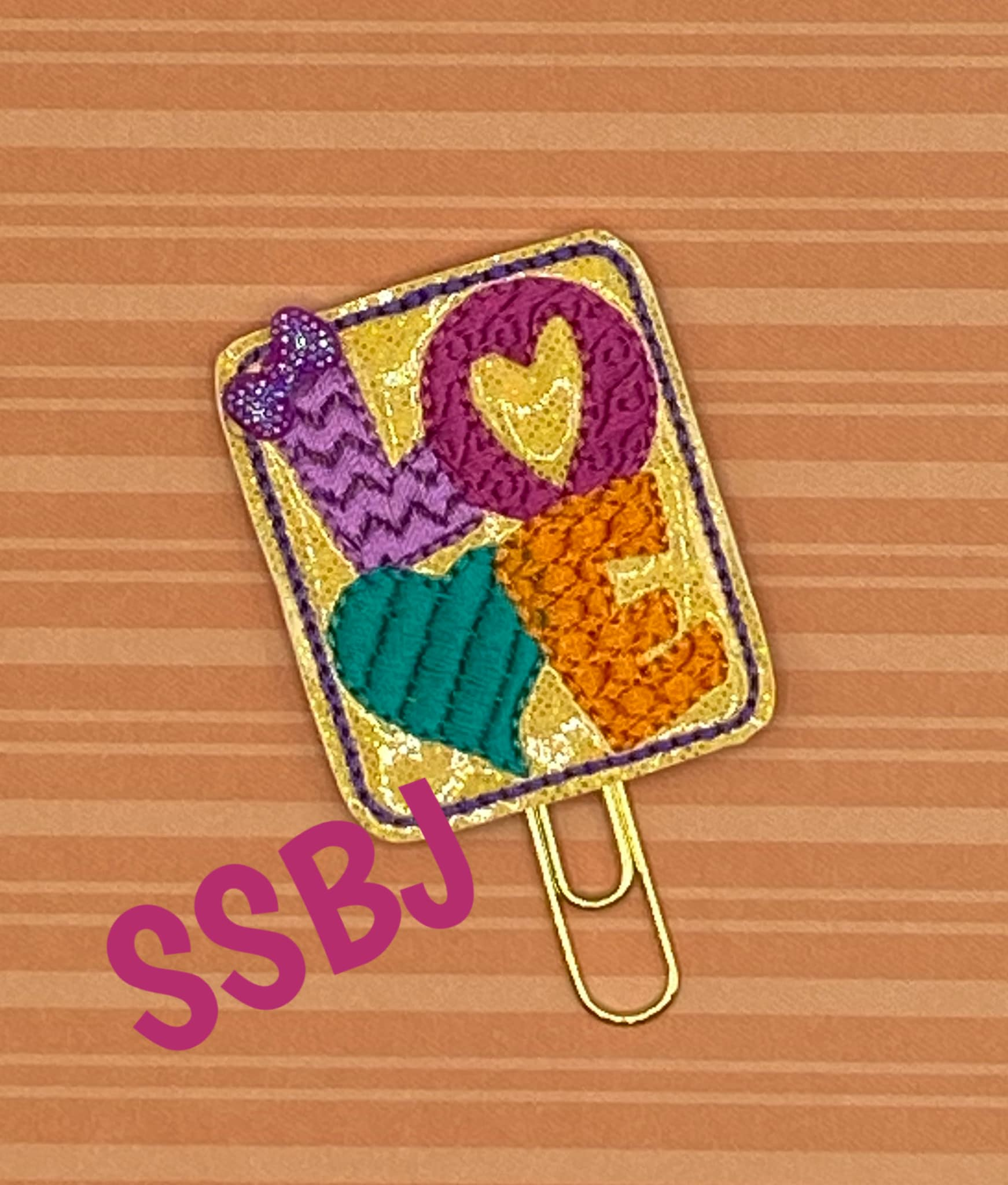 SSBJ Modern Love Embroidery File