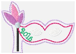 SSBJ New Year Mask Embroidery File