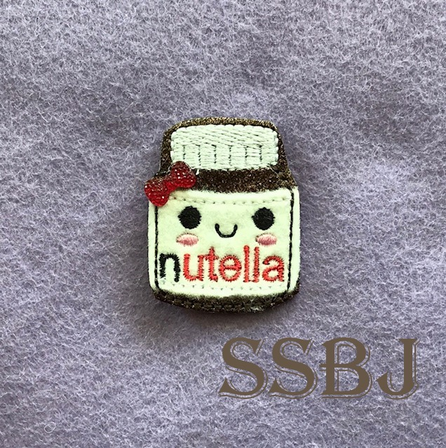 SSBJ Nutella Embroidery File