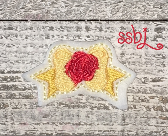 SSBJ Princess Bow Belle Embroidery File