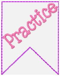 SSBJ Banner Planner Embroidery File-Practice