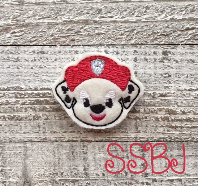 SSBJ Paw Patrol Marshall Embroidery File