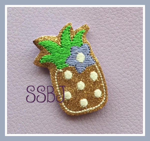 SSBJ Pineapple Embroidery File