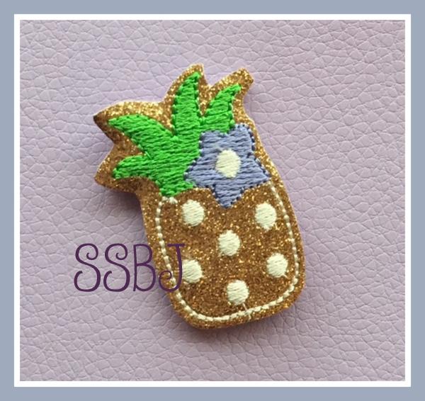 SSBJ Pineapple Embroidery File