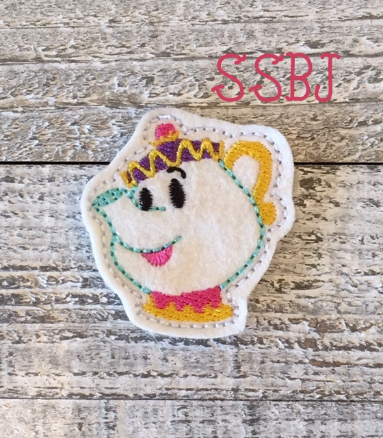 SSBJ Mrs Potts Embroidery File