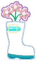 SSBJ Rainboot Applique Embroidery File
