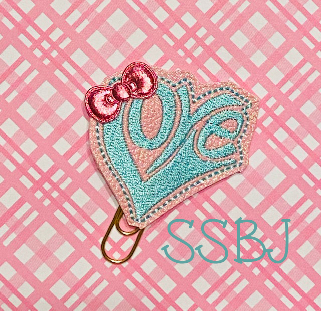 SSBJ Retro Love Embroidery File