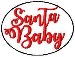 SSBJ Santa Baby Embroidery File