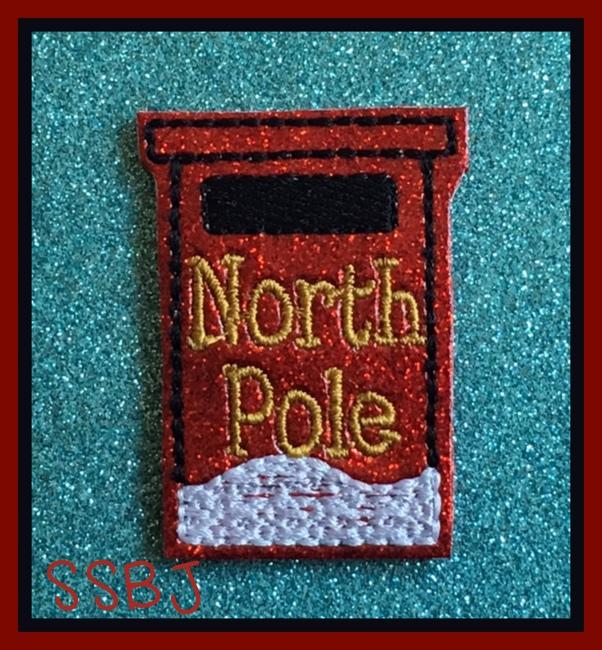 SSBJ Santa's Mailbox Embroidery File