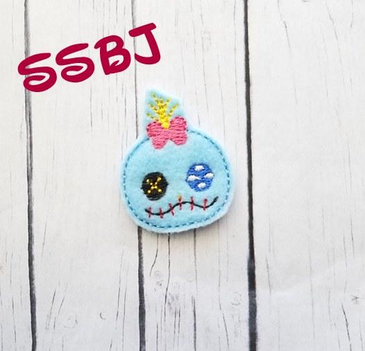 SSBJ Tum Scrump Embroidery File