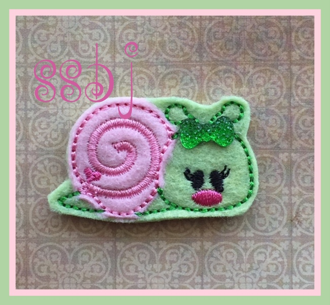 SSBJ Snail 2 Embroidery File