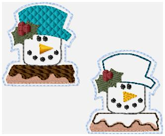 SSBJ Snow Smores Embroidery File