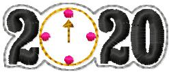 SSBJ Stroke of Midnight 2020 Embroidery File