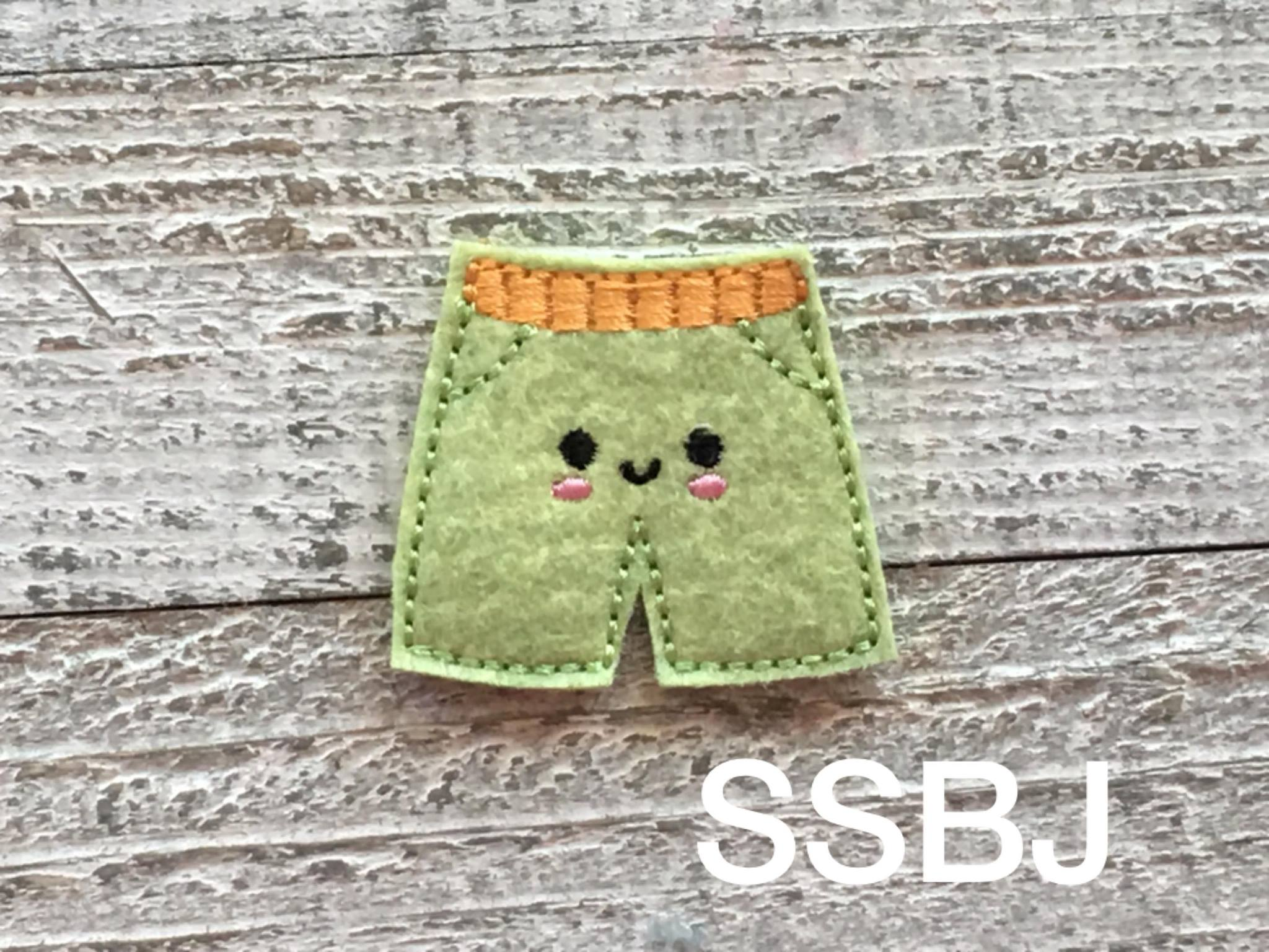 SSBJ Swimmer Shorts Embroidery File