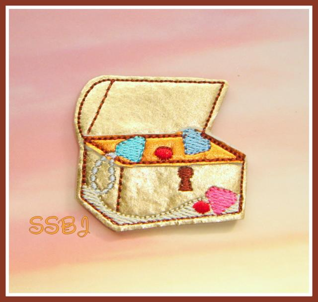 Treasure Chest Embroidery File