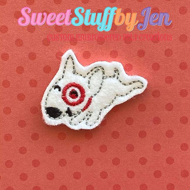 SSBJ Target Jump Dog Embroidery File