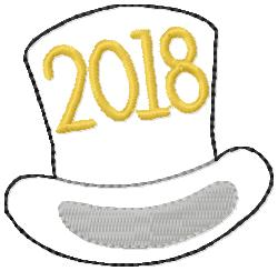 SSBJ Top Hat 2018 Embroidery File