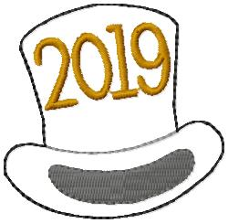 SSBJ Top Hat 2019 Embroidery File