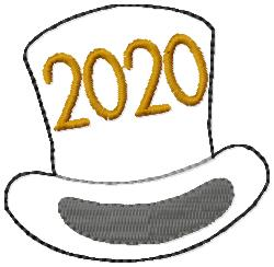 SSBJ Top Hat 2020 Embroidery File