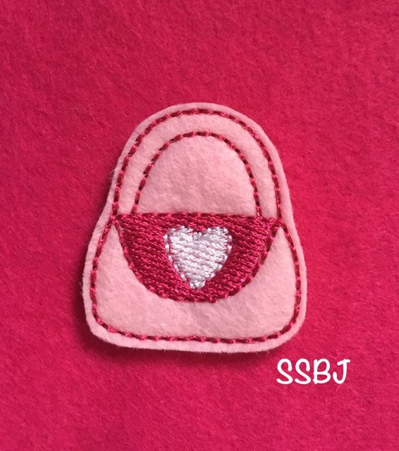 SSBJ Valentine Purse Embroidery File