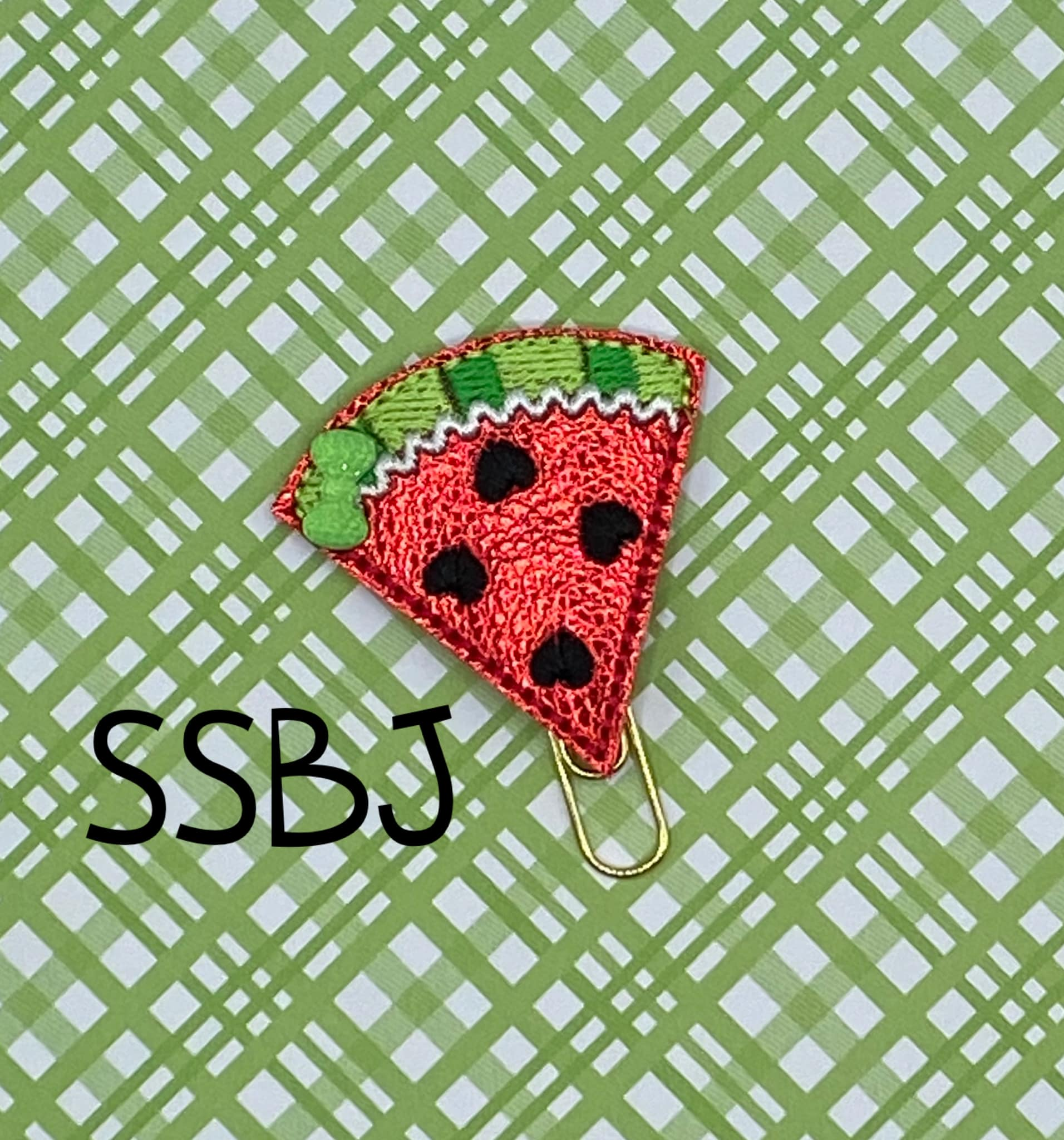 SSBJ Watermelon Heart Embroidery File