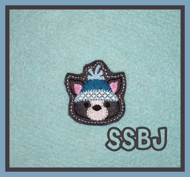 SSBJ Winter Skunk Embroidery File