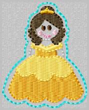 SS Princess Belle Embroidery File