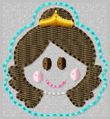 SS Princess Belle 2 Embroidery File