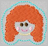 SS Princess Brave 2 Embroidery File