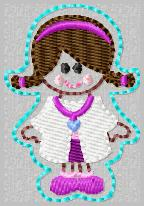 SS Princess Doc Embroidery File