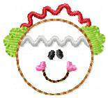 SS Ginger Muffs Embroidery Design